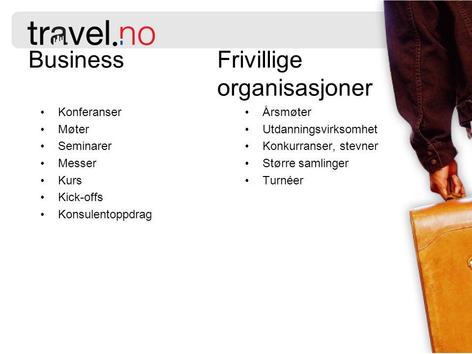 Business Frivillige organisasjoner