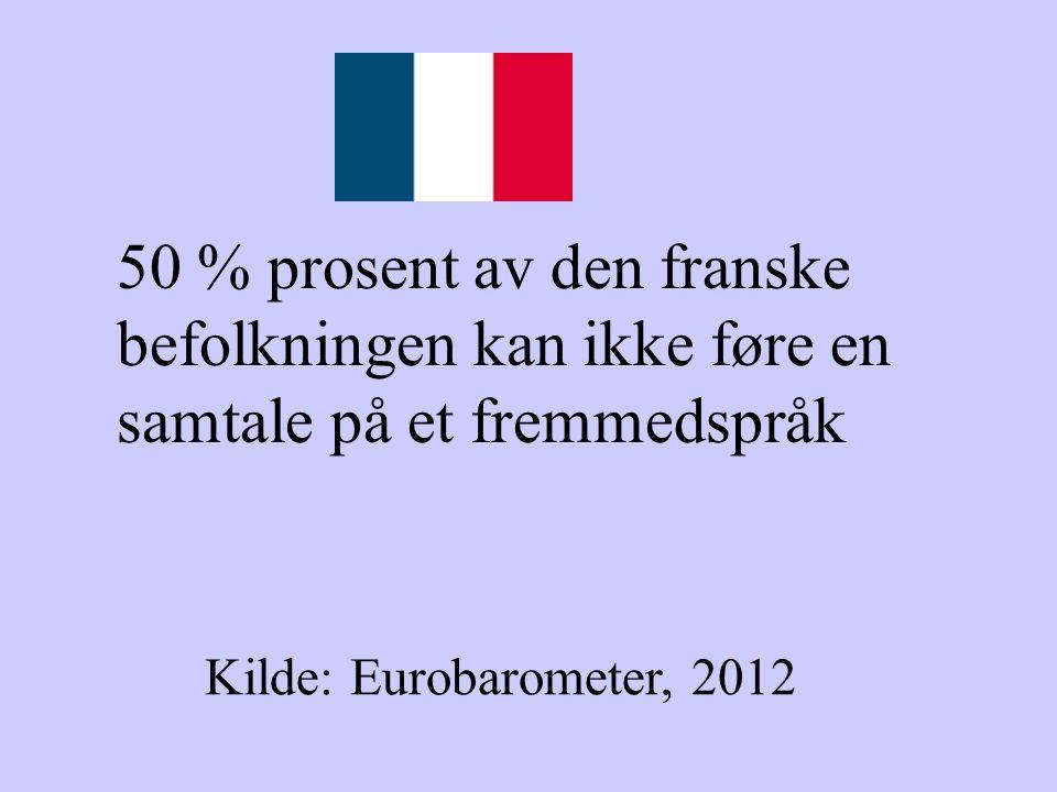 50 % prosent av den franske