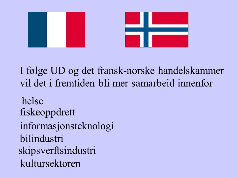 I følge UD og det fransk-norske handelskammer