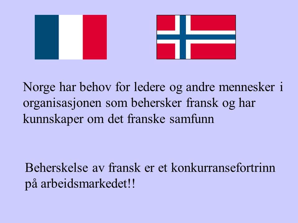 Norge har behov for ledere og andre mennesker i