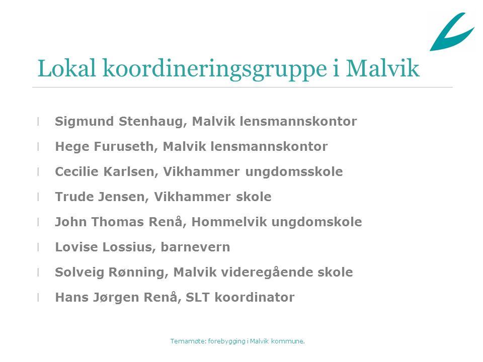 Lokal koordineringsgruppe i Malvik