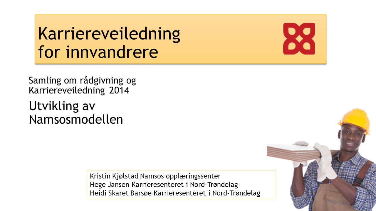 Karriereveiledning for innvandrere
