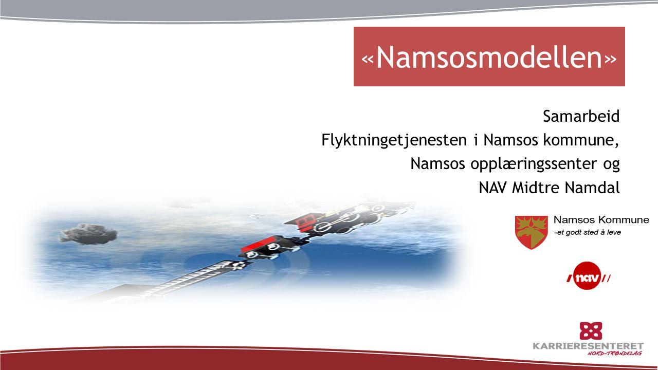 «Namsosmodellen» Samarbeid Flyktningetjenesten i Namsos kommune,