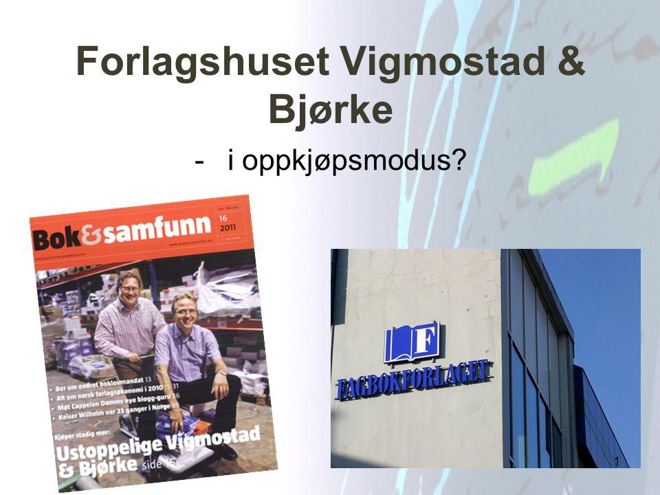 Forlagshuset Vigmostad & Bjørke