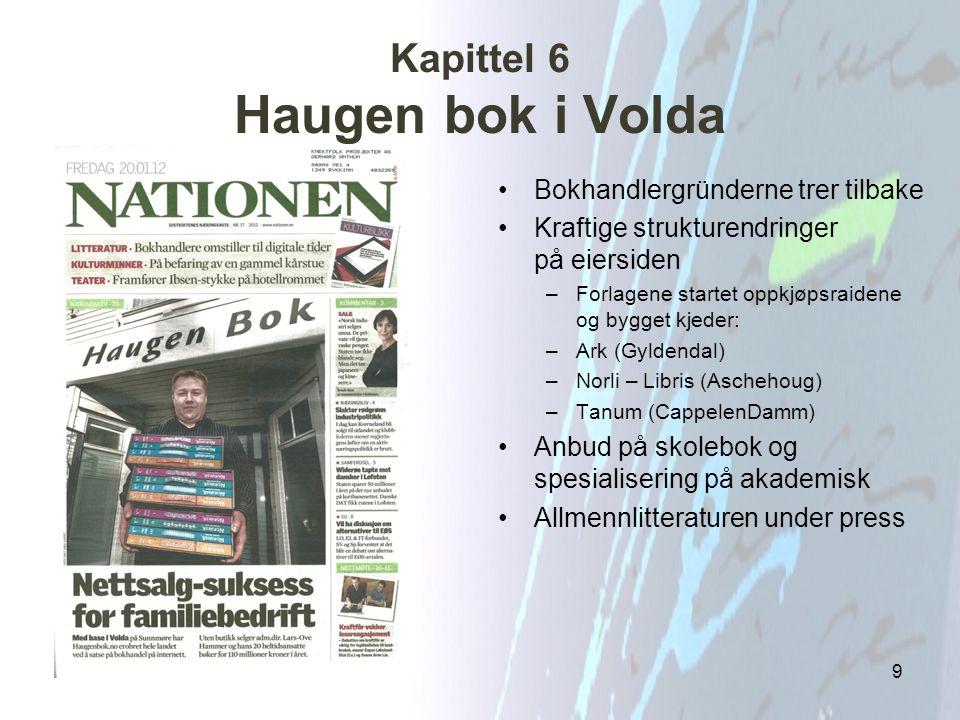 Kapittel 6 Haugen bok i Volda