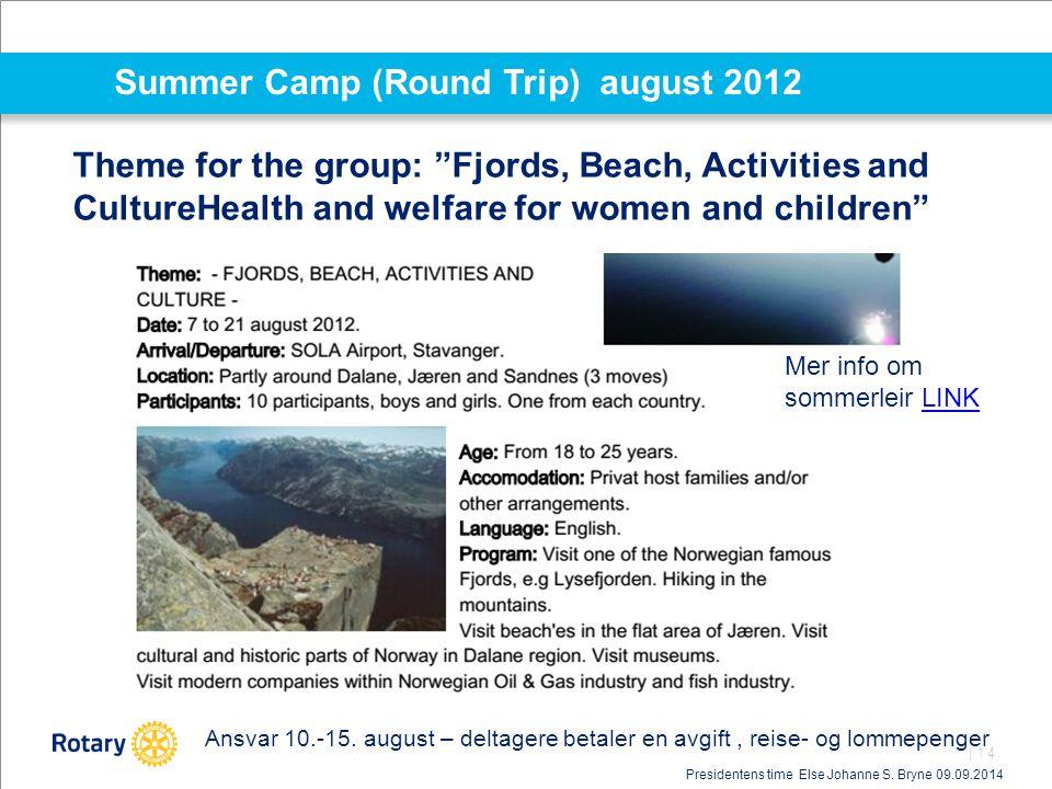 Summer Camp (Round Trip) august 2012