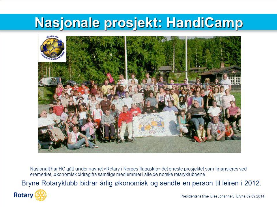 Nasjonale prosjekt: HandiCamp