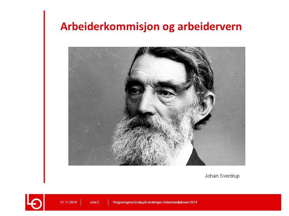 Arbeiderkommisjon og arbeidervern