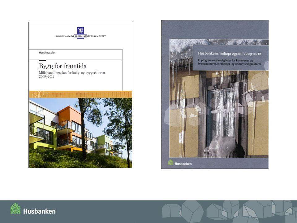 Regjeringas Miljøhandlingsplanen og Husbankens Miljøprogram