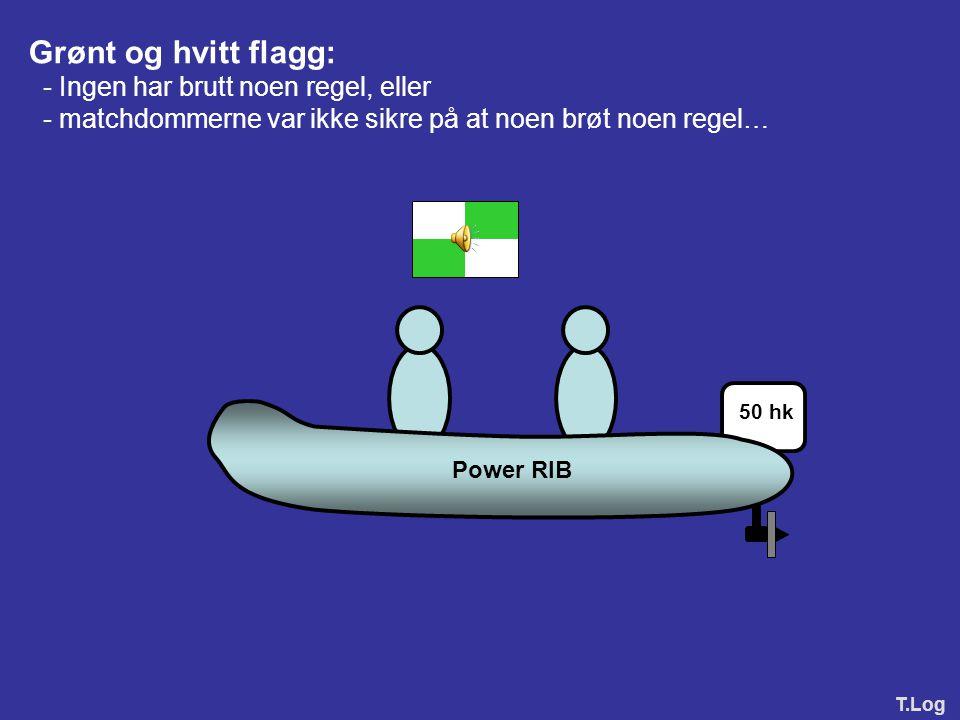 Grønt og hvitt flagg: - Ingen har brutt noen regel, eller