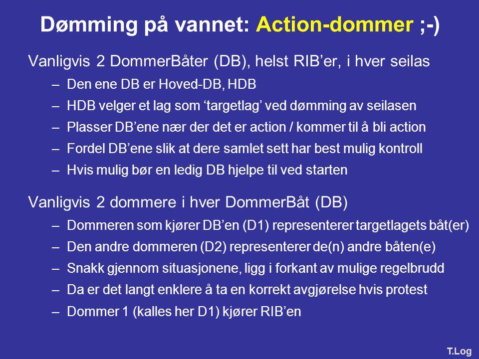 Dømming på vannet: Action-dommer ;-)