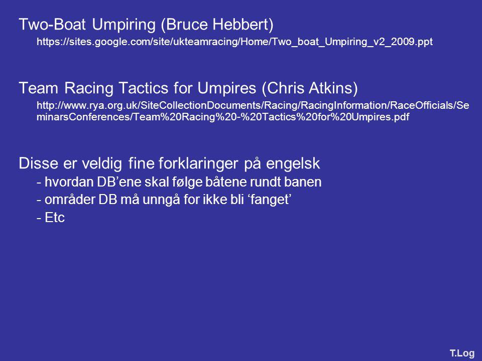 Two-Boat Umpiring (Bruce Hebbert)