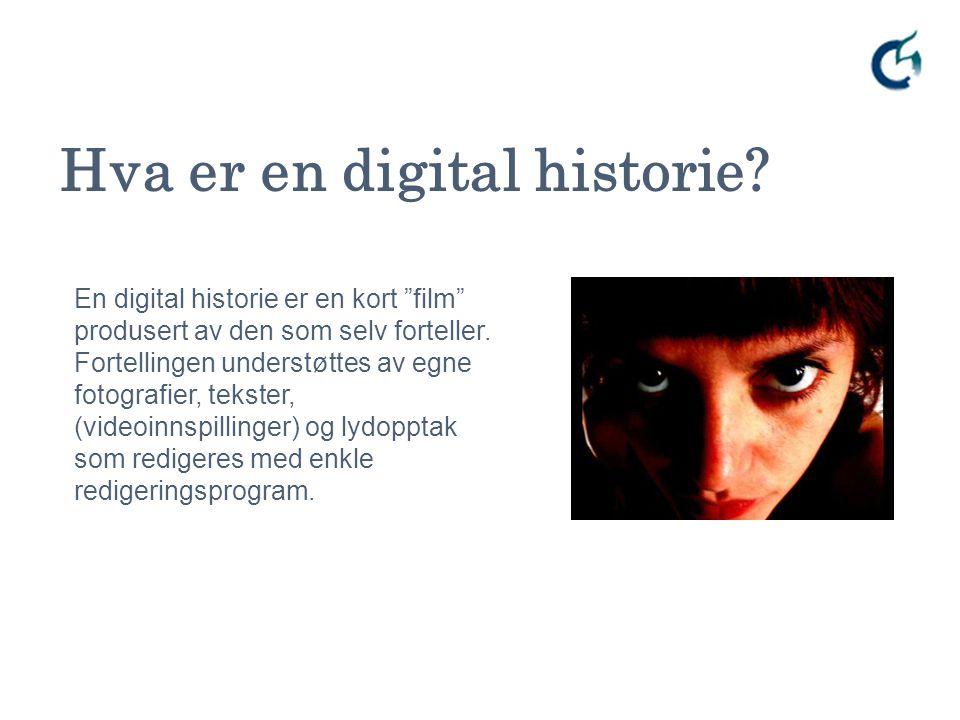 Hva er en digital historie