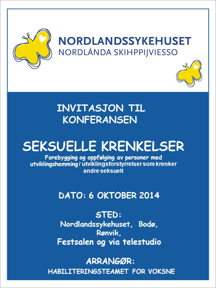 Nordlandssykehuset, Bodø, Rønvik, Festsalen og via telestudio