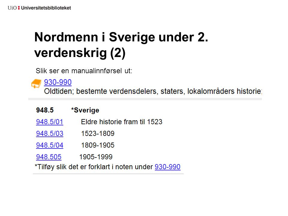 Nordmenn i Sverige under 2. verdenskrig (2)