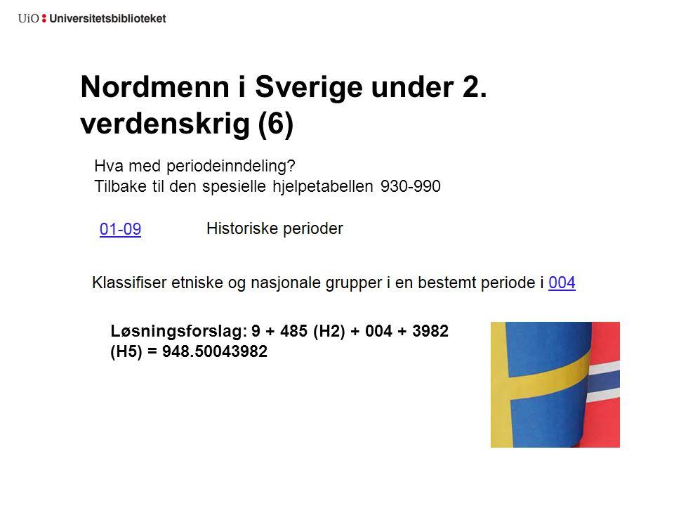Nordmenn i Sverige under 2. verdenskrig (6)