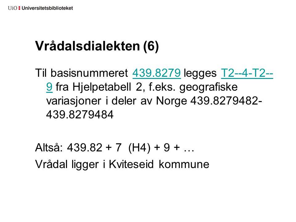 Vrådalsdialekten (6)