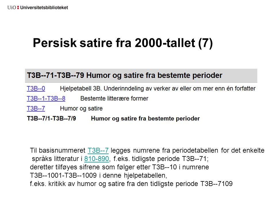 Persisk satire fra 2000-tallet (7)