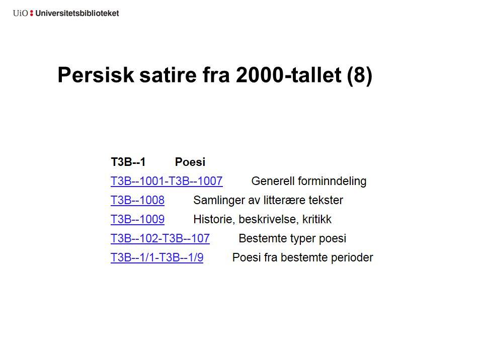 Persisk satire fra 2000-tallet (8)