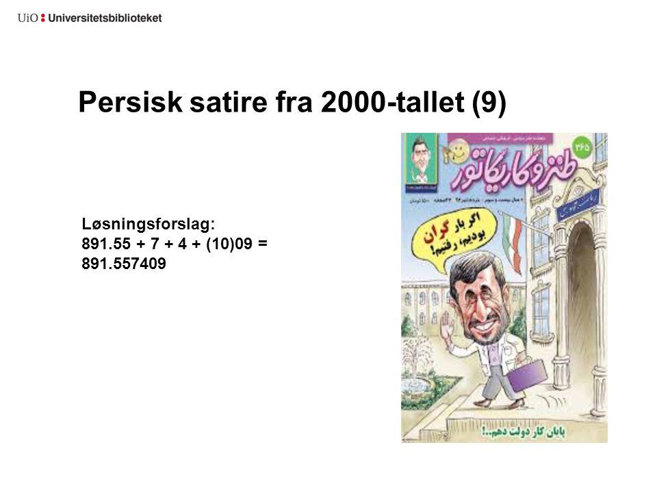 Persisk satire fra 2000-tallet (9)