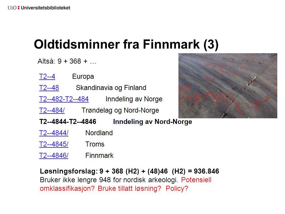 Oldtidsminner fra Finnmark (3)