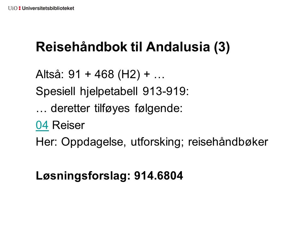 Reisehåndbok til Andalusia (3)