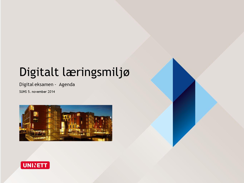 Digitalt læringsmiljø
