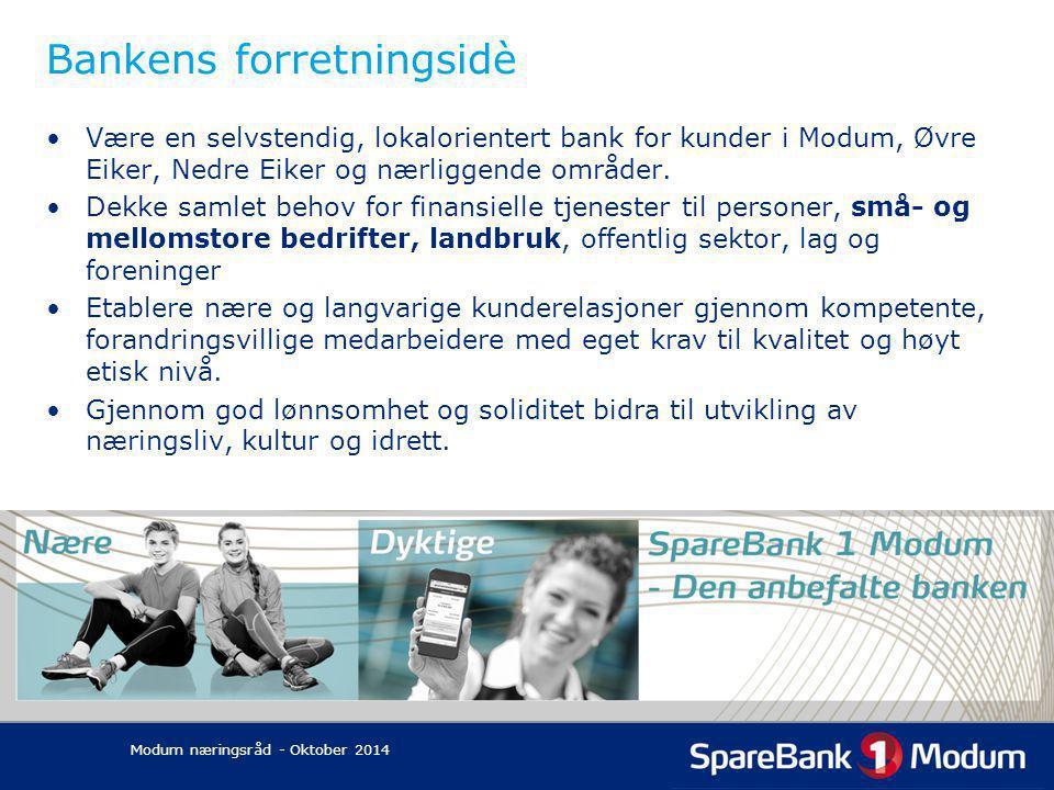 Bankens forretningsidè