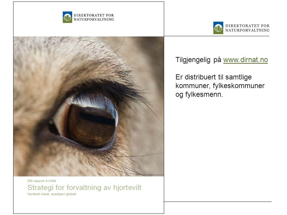 Tilgjengelig på www.dirnat.no
