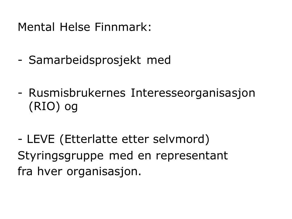 Mental Helse Finnmark: