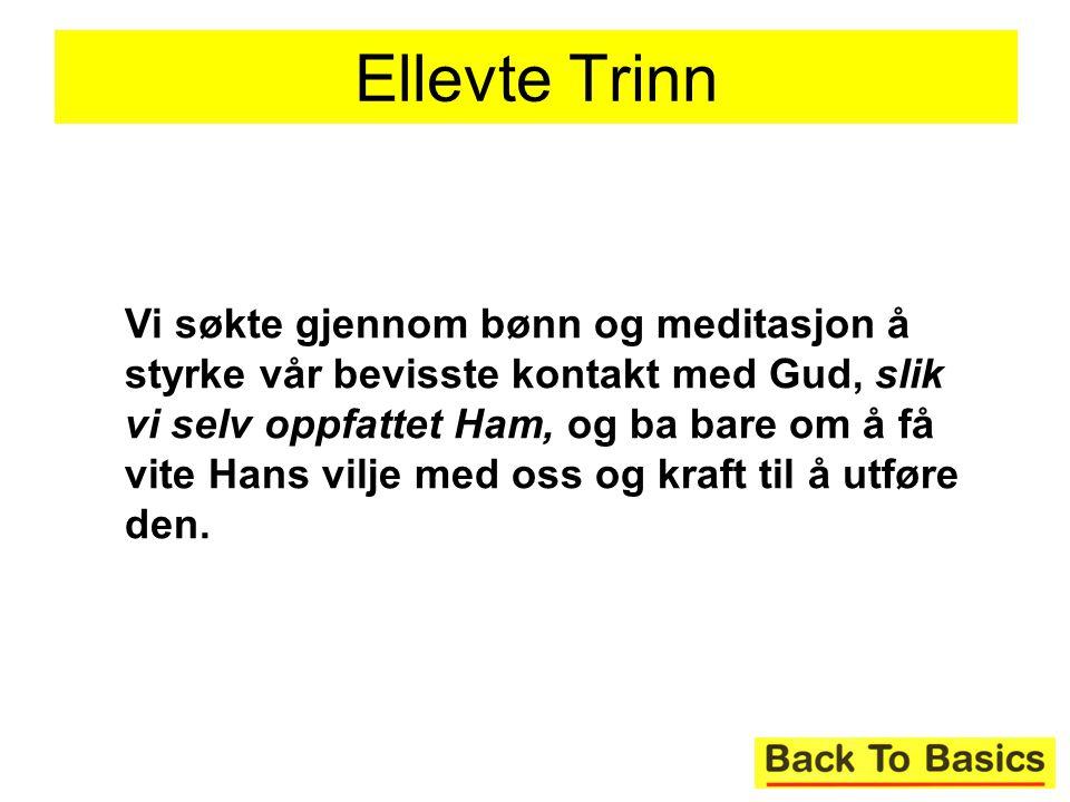 Ellevte Trinn