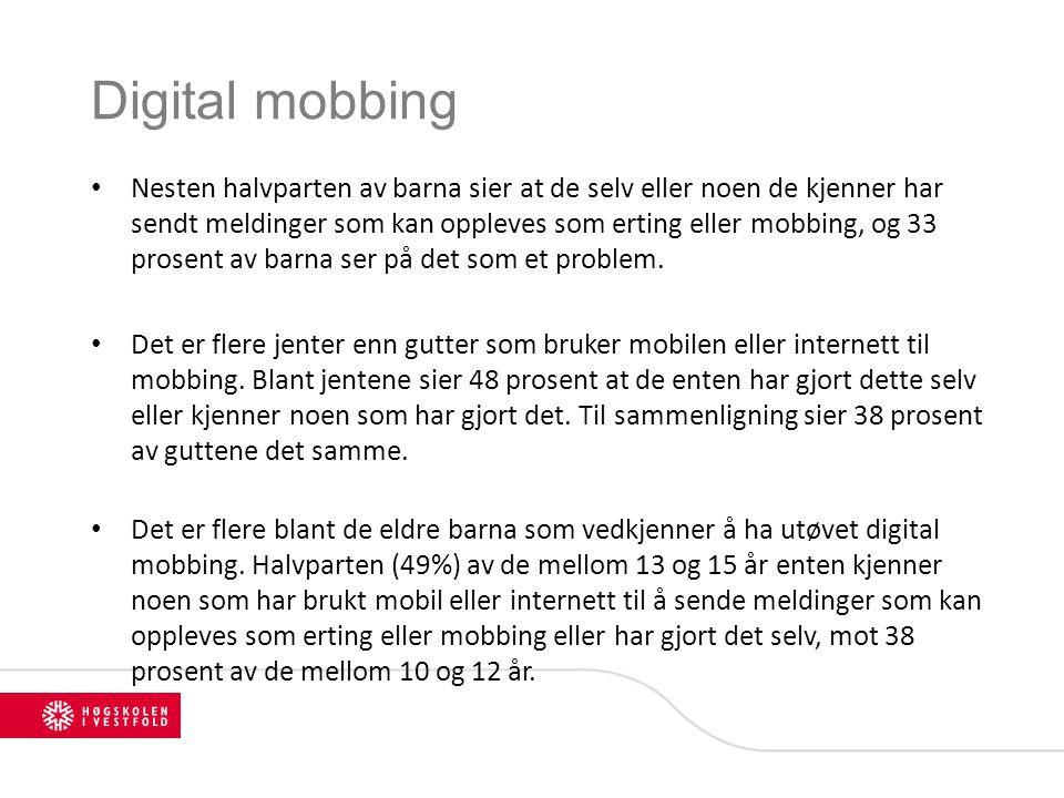 Digital mobbing