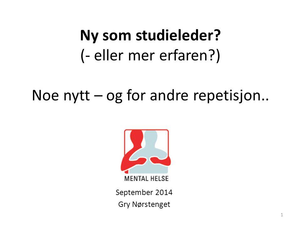 September 2014 Gry Nørstenget