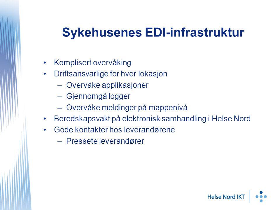 Sykehusenes EDI-infrastruktur