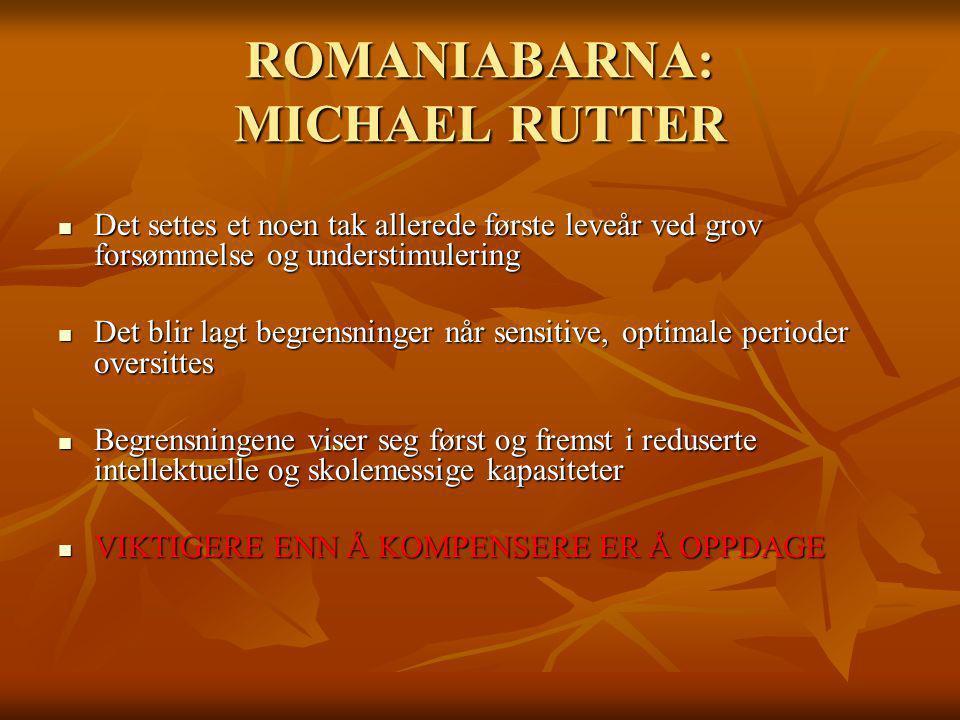 ROMANIABARNA: MICHAEL RUTTER