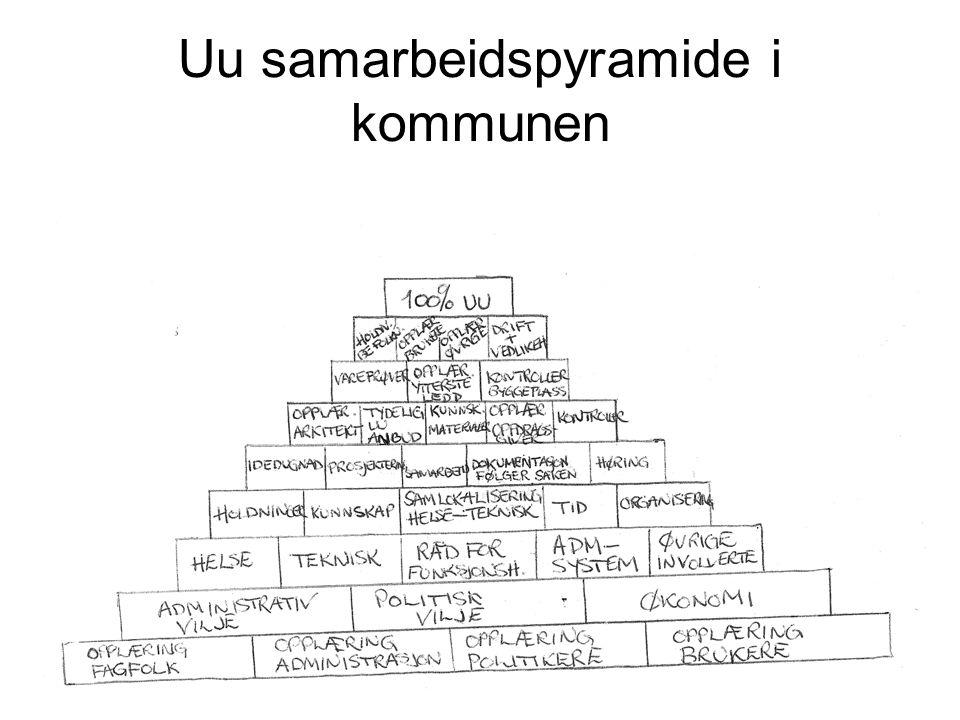 Uu samarbeidspyramide i kommunen