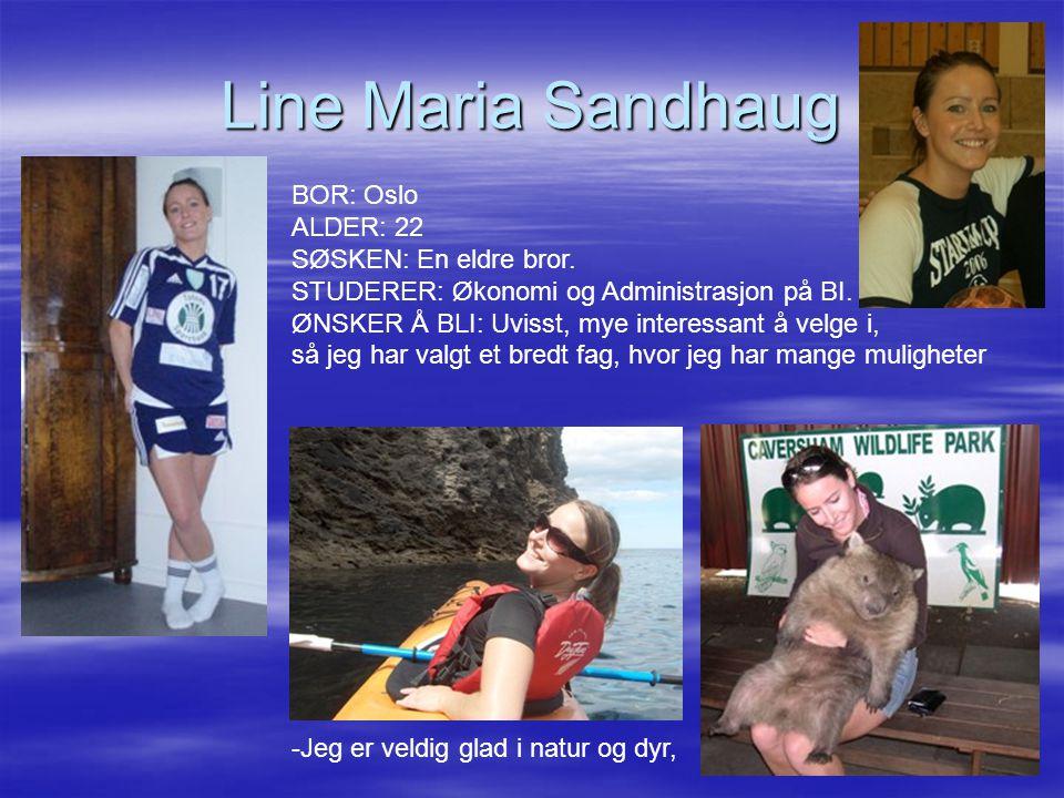 Line Maria Sandhaug