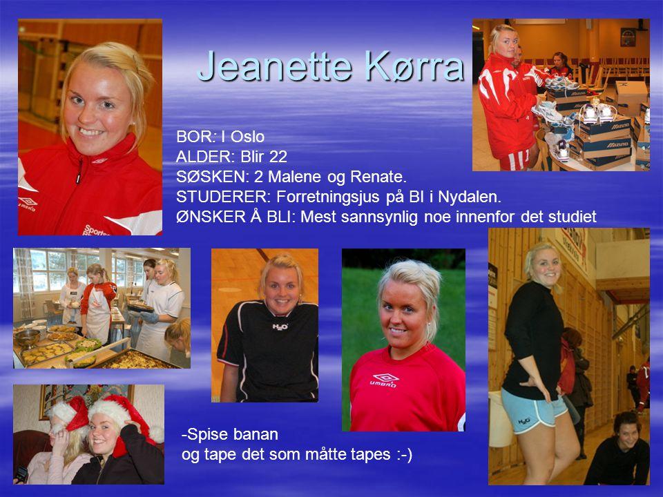 Jeanette Kørra
