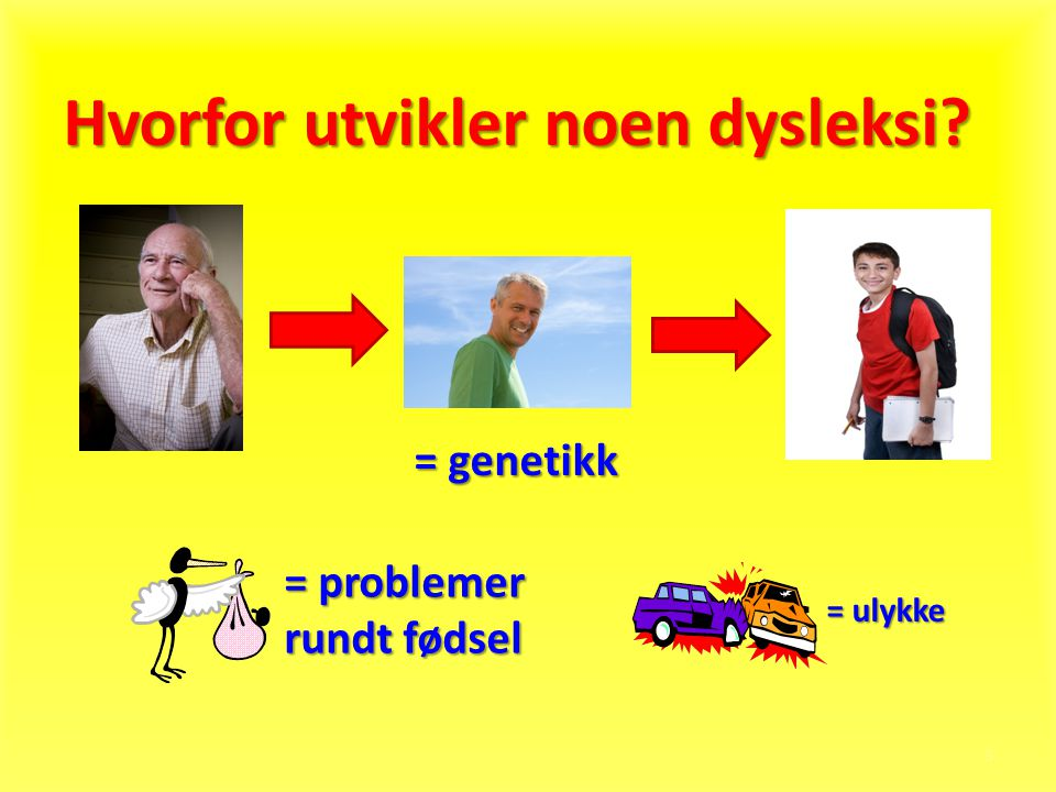Hvorfor utvikler noen dysleksi