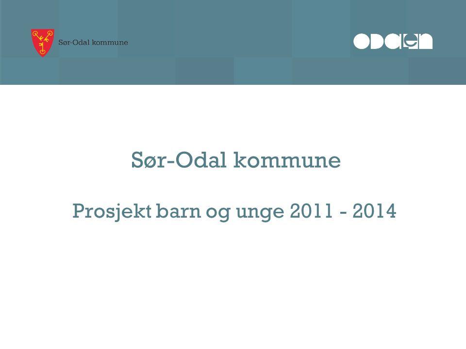 Sør-Odal kommune Prosjekt barn og unge 2011 - 2014