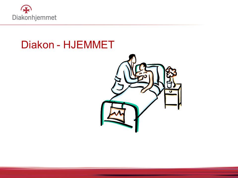 Diakon - HJEMMET Institusjon og sykehus = HJEM 14