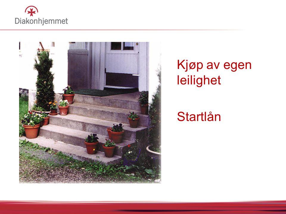 Kjøp av egen leilighet Startlån 07.04.2017 05:05 07.04.2017 05:05 FØR