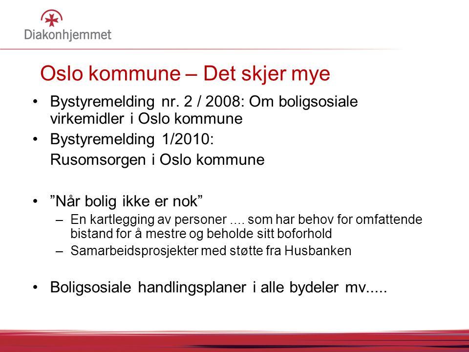 Oslo kommune – Det skjer mye