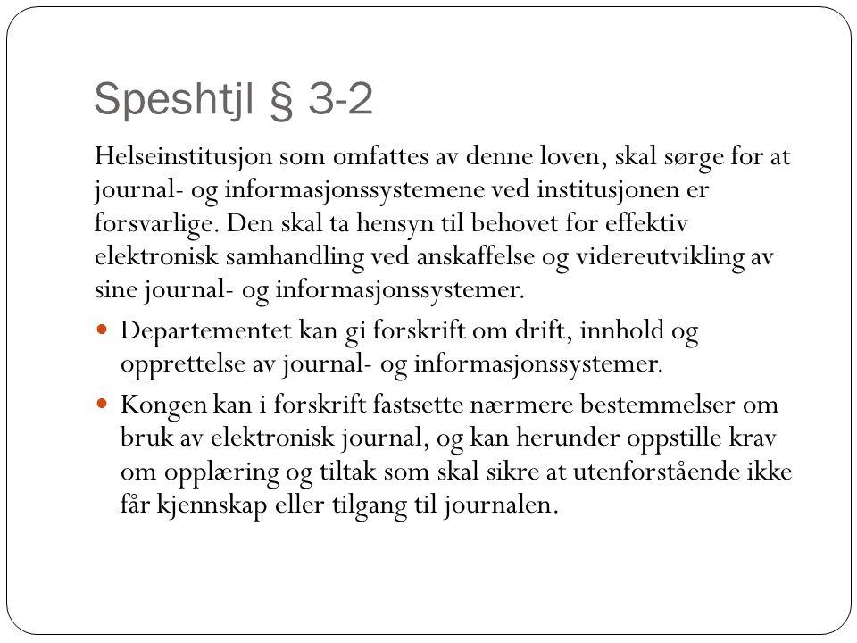Speshtjl § 3-2