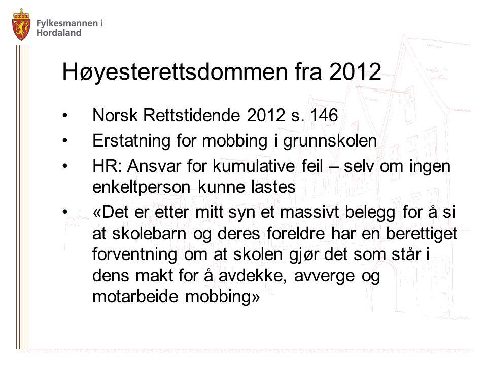 Høyesterettsdommen fra 2012