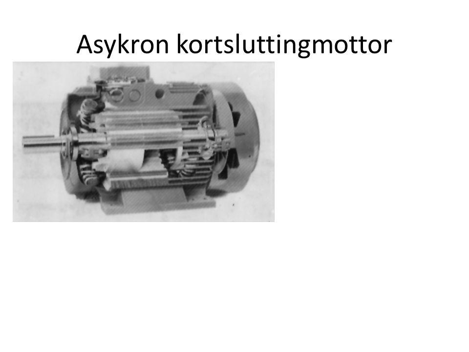 Asykron kortsluttingmottor