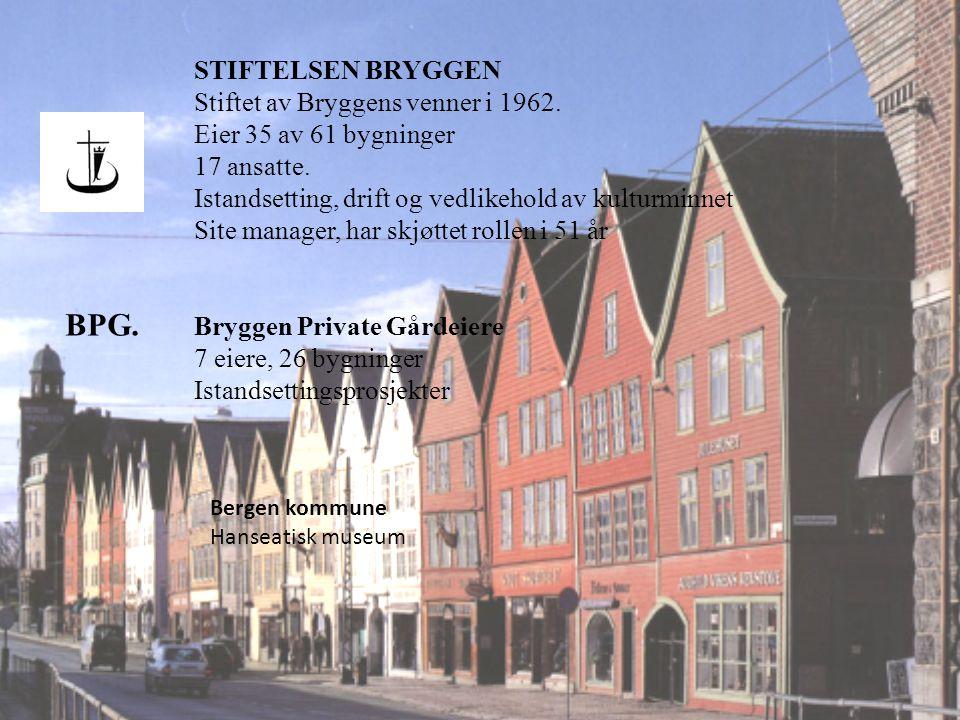 BPG. STIFTELSEN BRYGGEN Stiftet av Bryggens venner i 1962.