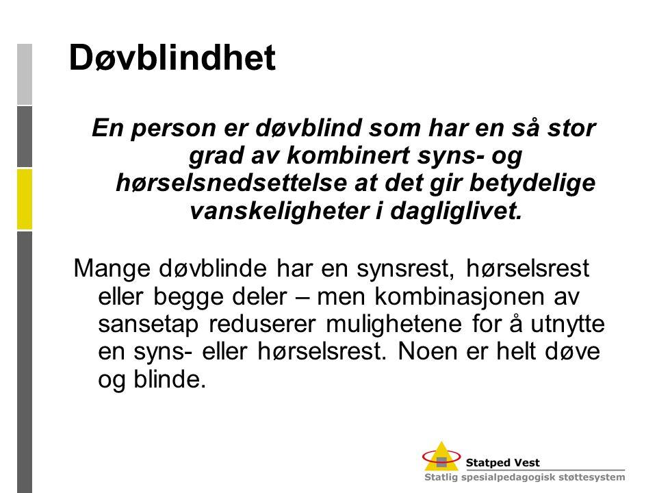 Døvblindhet