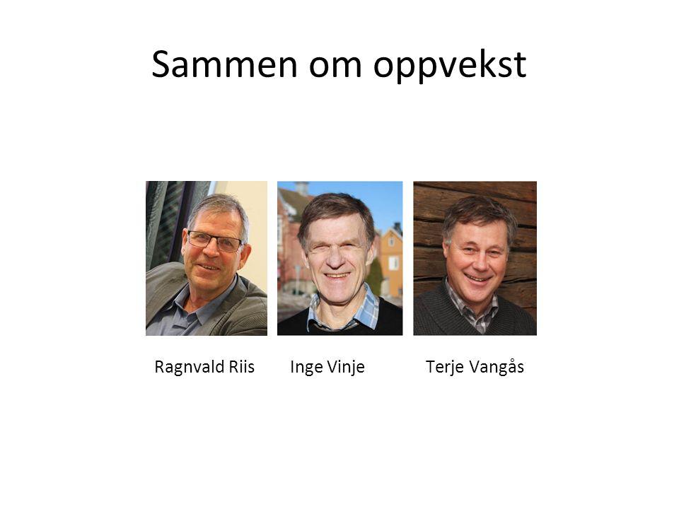 Ragnvald Riis Inge Vinje Terje Vangås