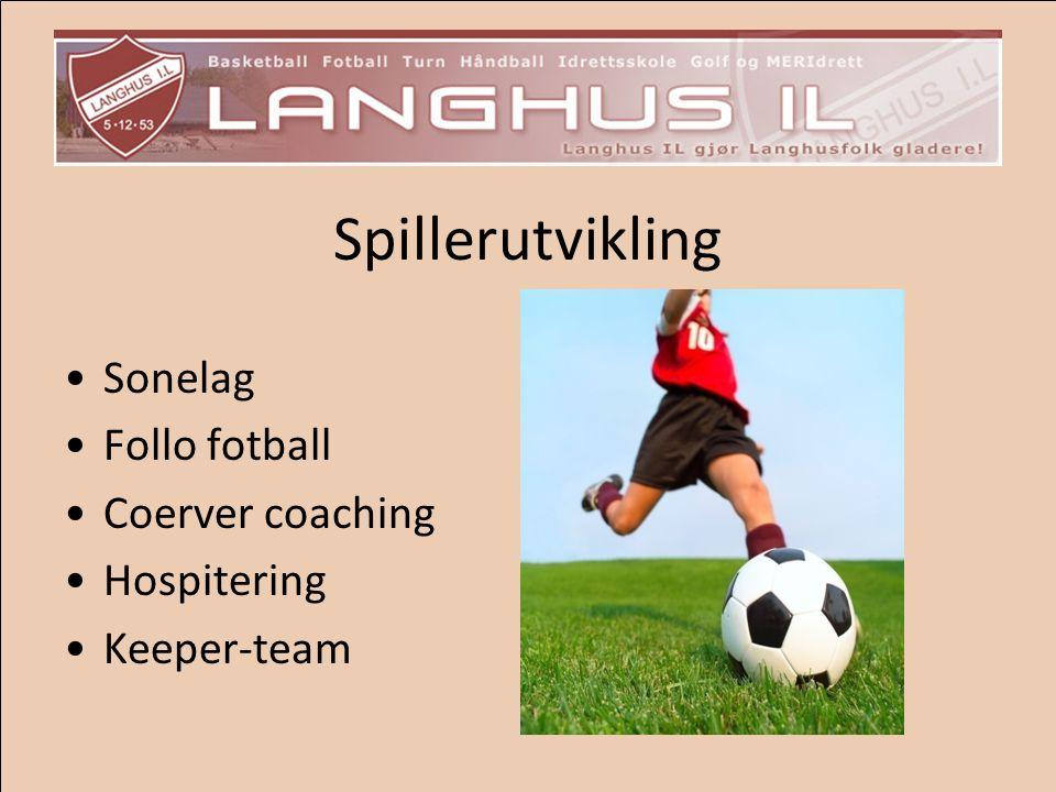 Spillerutvikling Sonelag Follo fotball Coerver coaching Hospitering
